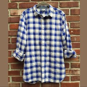 Gap Slim Fit Button Down Over Sized Shirt SZ M